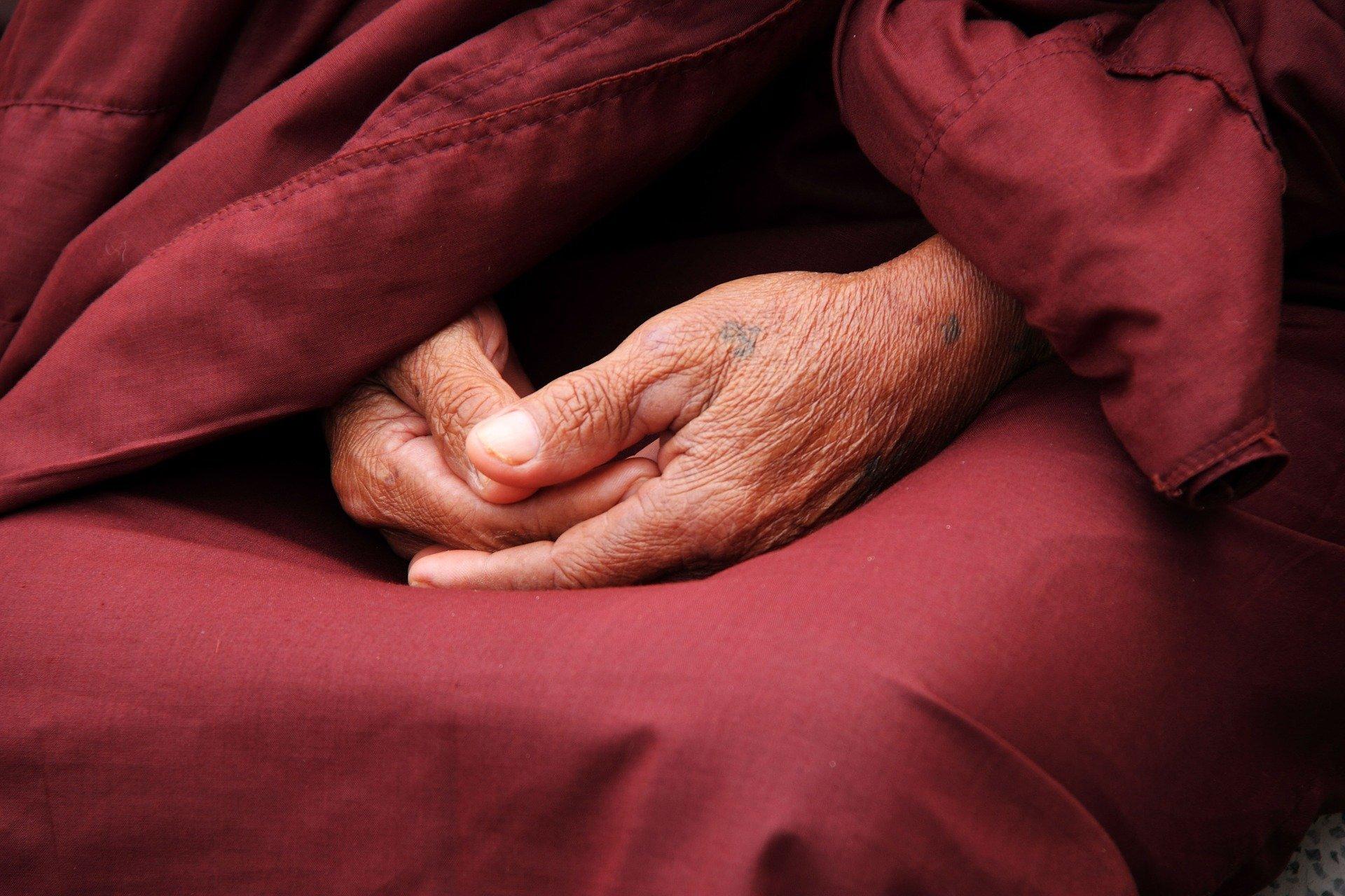 Monks Hands