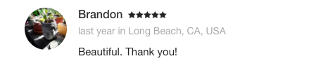 Ayse Durmush Testimonial Brandon Long Beach