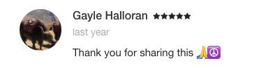 Ayse Durmush Testimonial Gayle Halloran