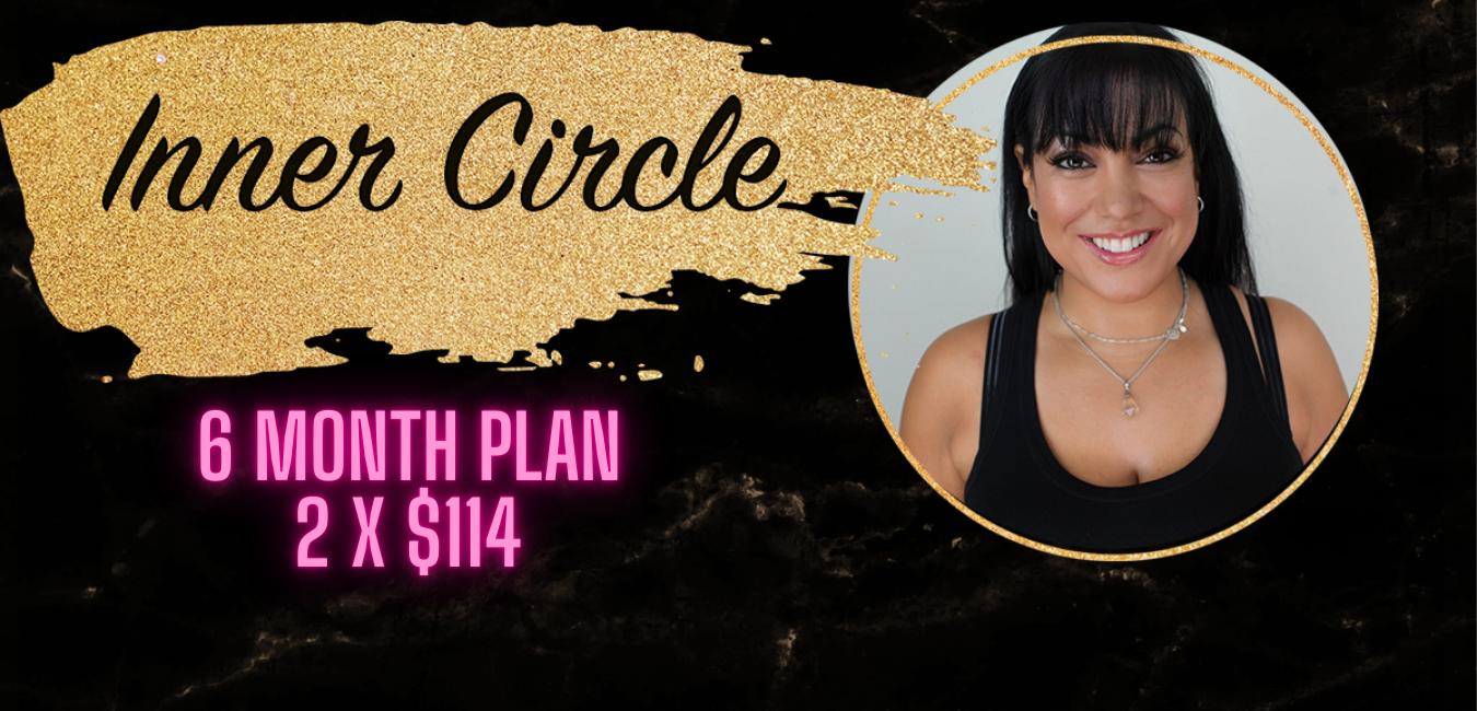 Inner Circle 6 month plan banner
